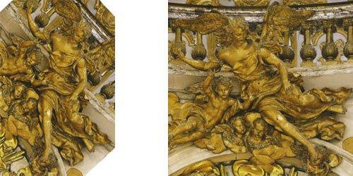 Chapelle royale, ange, Louis XIV, messe, angéologie.