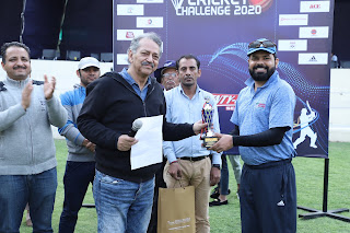Manav Rachna 13th Corporate Cricket Asian Hospital Won The Match By 150 Runs