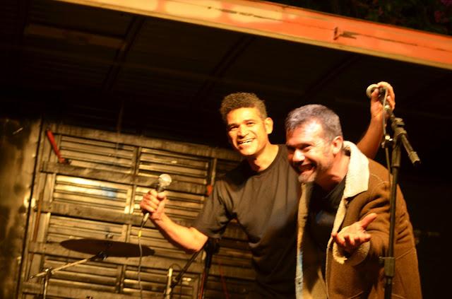 DJs Valbert (esquerda) e Altervir) Foto Joaquim Dantas