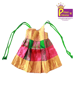 new born silk frock pattu pavadai girls kutties
