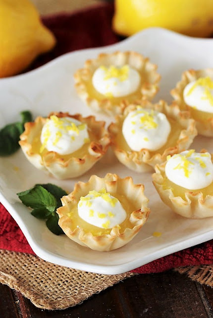 Lemon Curd Tartlets Image