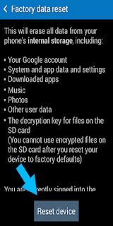 How to Reset Or Format Android Mobile Phone