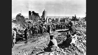 Världskrig och spanska sjukan. Elände på elände.