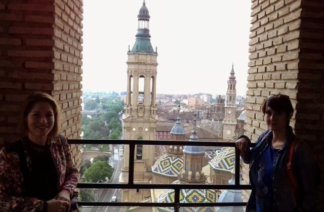 Mónica y Verónica en la Torre