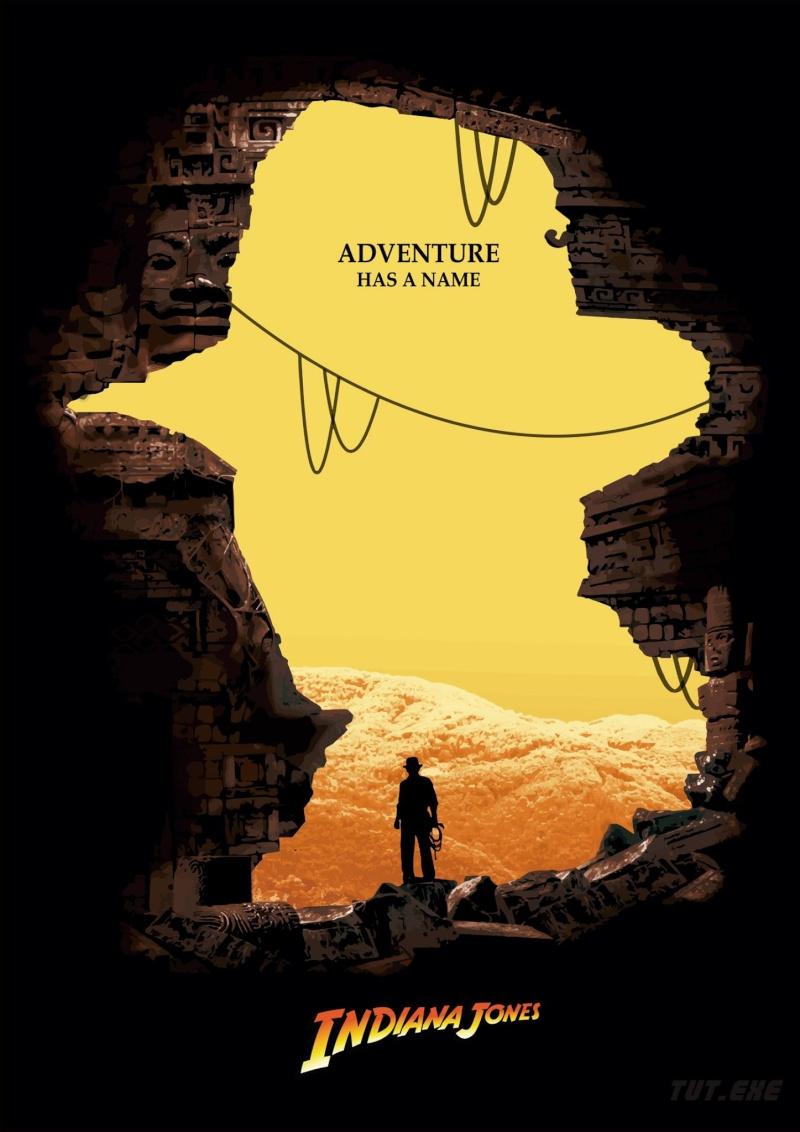 poster phim indiana jones và vương quốc sọ người