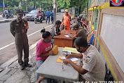 3 Pilar Kelurahan Duri Selatan Bersama Damkar Gelar Operasi Tertib Masker (Tibmask)