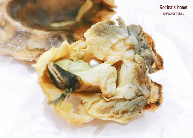 Жемчужина внутри моллюска