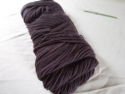 yarn, crochet, Caron One Pound