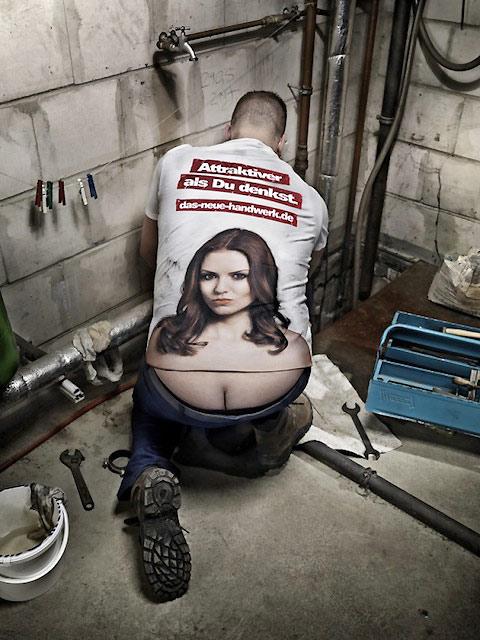 Camiseta creativa