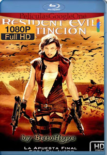 Resident Evil 3: Extincion [2007] [1080p BRrip] [Latino-Inglés] [GoogleDrive]