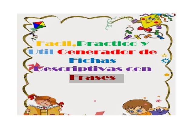 fichas,fichero,frases,primaria,niños