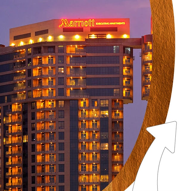 شقق ماريوت الفندقية