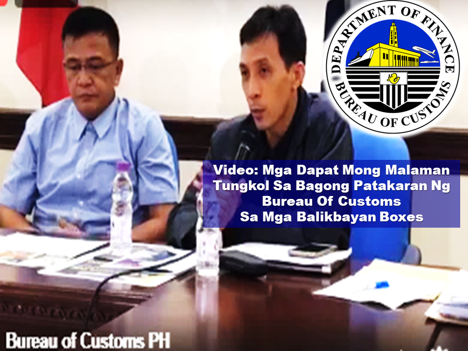 The new rule about the balikbayan boxes via Customs Memorandum Order 04-2017 is a hot issue for all the OFWs. The sudden implementation which will begin on August 1, has already built confusion and worry among the balikbayan box senders despite the assurance of the BOC that this will not affect the OFW balikbayan boxes. Bureau of Customs clarified that they are doing this measures to fight illegal smuggling and the legitimate OFWs should not worry about it. BOC also said that this is also being practiced in other countries and there is nothing new about it.  Bureau of Customs also said that the system will be used to avoid the names of the OFWs being used by illegal smugglers and to protect our borders against illegal drugs and firearms.  OFWs has privileges and tax exemptions pursuant to the Customs Modernization and Tariff Act Section 800 (g) of up to P150,000.  However, to avail the said privilege, they must follow the new rule under CMO 04-2017.         If anyone, including the OFWs do not want to avail of the privileges and tax exemptions, they can disregard the rule and send their balikbayan boxes but the BOC will charge the appropriate duties and taxes at a regular rate.  OFWs who wish to avail their privileges should comply with the regulation and submit all he needed documents such as the information sheet from BOC, receipts of the brand news items they purchased abroad, and the copy of their passport. However, for second hand items, receipts are no longer required provided that the sender will declare its depreciated value on the information sheet.  If the receipts are missing or misplaced, the sender should declare its approximate value on the information sheet.    Commissioner Nicanor Faeldon ensured the OFWs that there will be no opening of the balikbayan boxes. He said that the Bureau of Customs rely on the honesty of the OFWs. The boxes will run on x-ray scans and if they found suspicious items in the box, that's only when they will be prompt to inspect the contents of the suspicious box.  To download the 5 pages information sheet, click here.           Read More:         ©2017 THOUGHTSKOTO