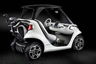 Mercedes-Benz Style Edition Garia Golf Car Concept (2016) Rear Side
