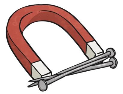 ما أنواع المعادن التي تنجذب إلى المغناطيس