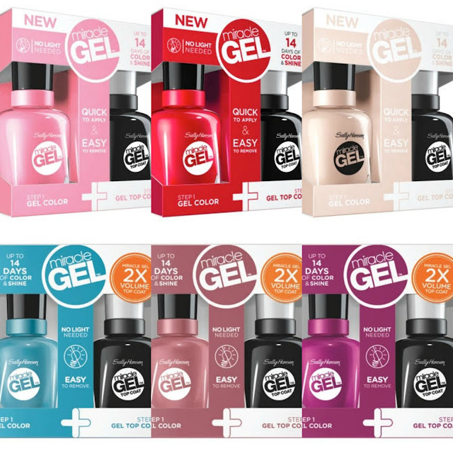 Sally Hansen Festival Floral Limited Edition Miracle Gel Collection