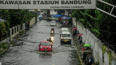 Ini Empat Titik di Kota Bandung Terendam Banjir