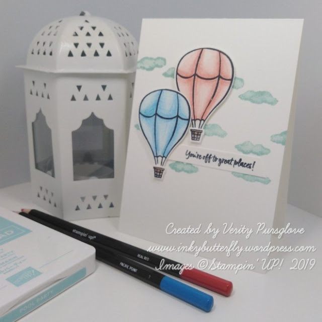 Above the Clouds Stampin Up