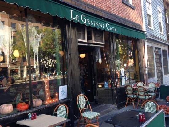 Le Grainne Café em Nova York