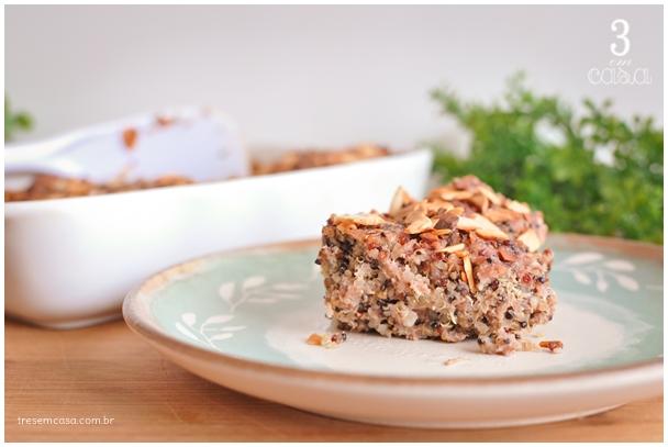 quibe de forno com quinoa receita
