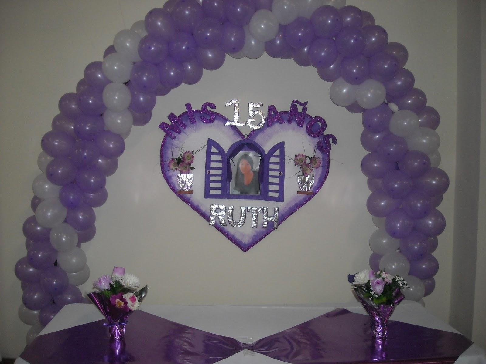 Hoy hablamos de decoraci n 15 a os for Decoracion de pared para 15 anos