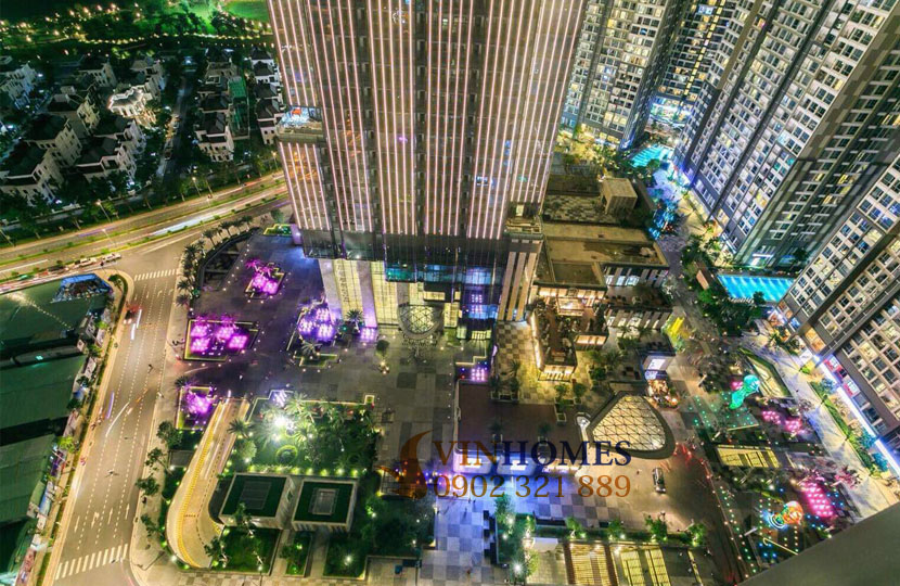 Vinhomes L6 cho thuê căn hộ 155m2 tầng cao 4PN
