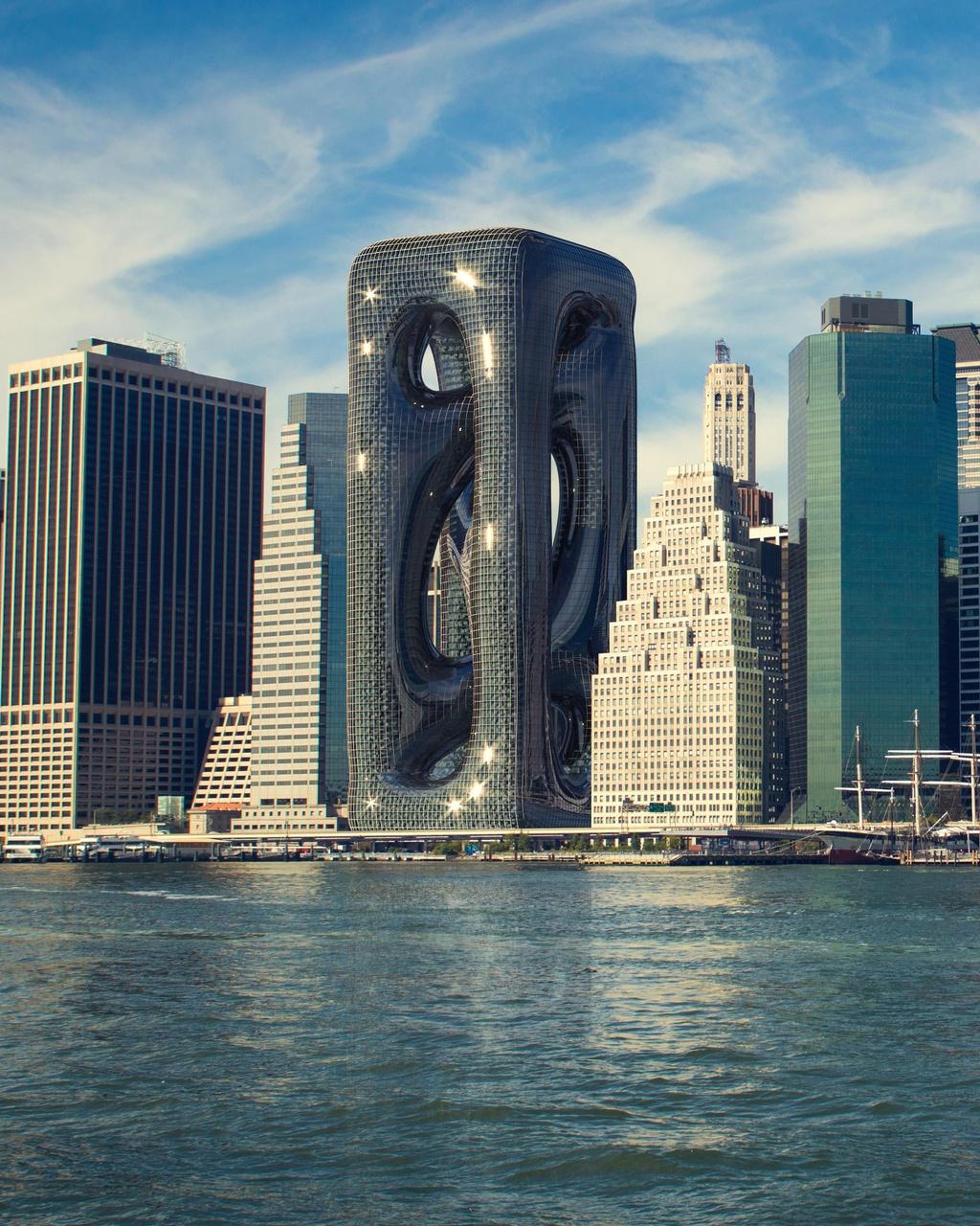 Tòa nhà được thiết kế kiểu vô định hình ở New York