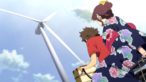 Review Anime MOVIE Uchiage Hanabi