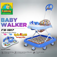 Baby Walker Family FB1817 Upin & Ipin Car