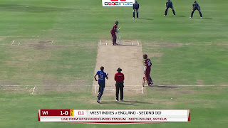West Indies vs England 2nd ODI 2017 Highlights