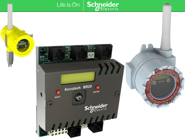 Schneider Electric Accutech Wireless Instrumentations