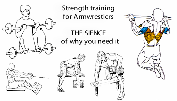 Armwrestlers ONLY: Strength training for Armwrestlers