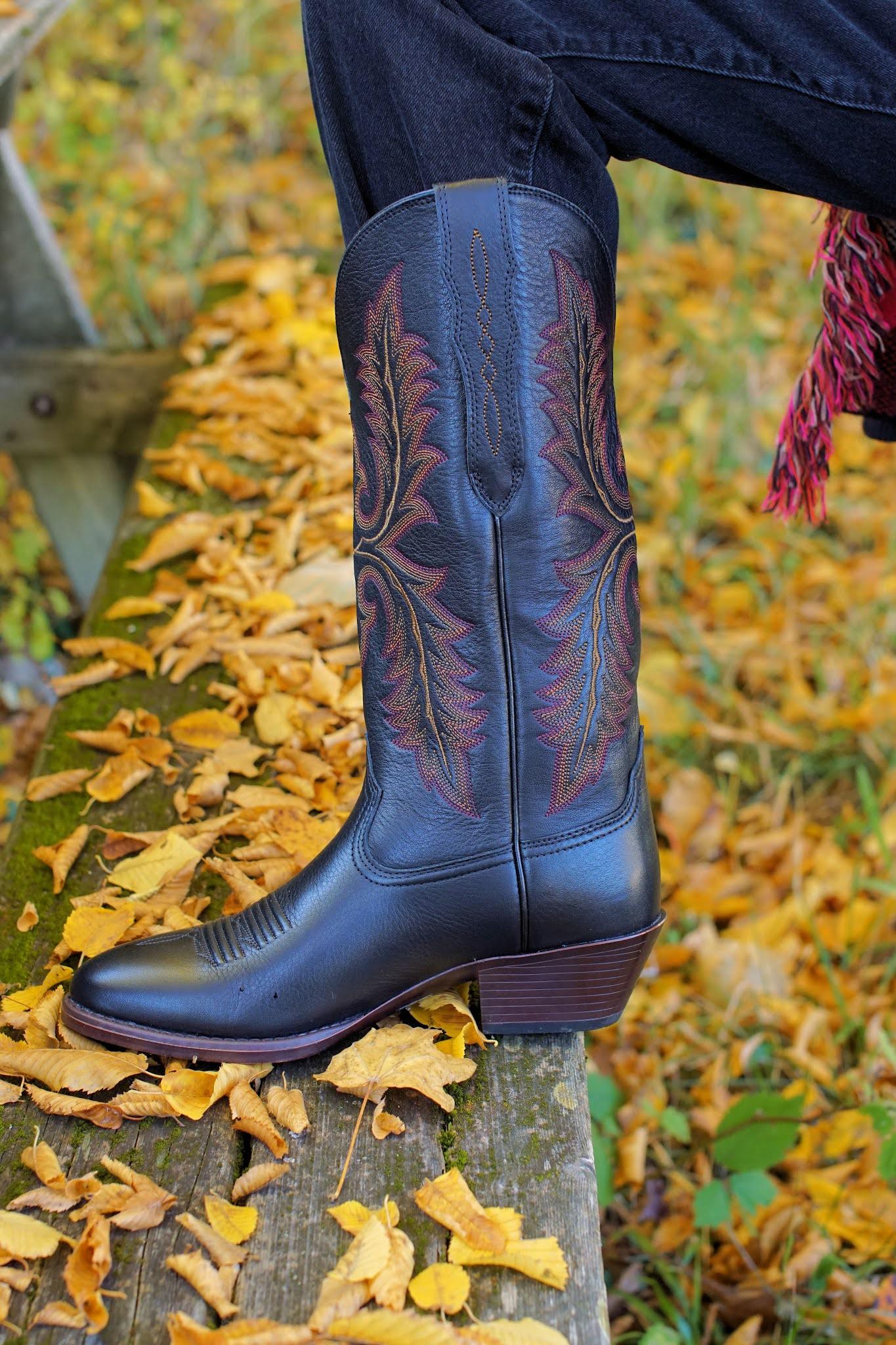 Ariat Elastic calf western boots