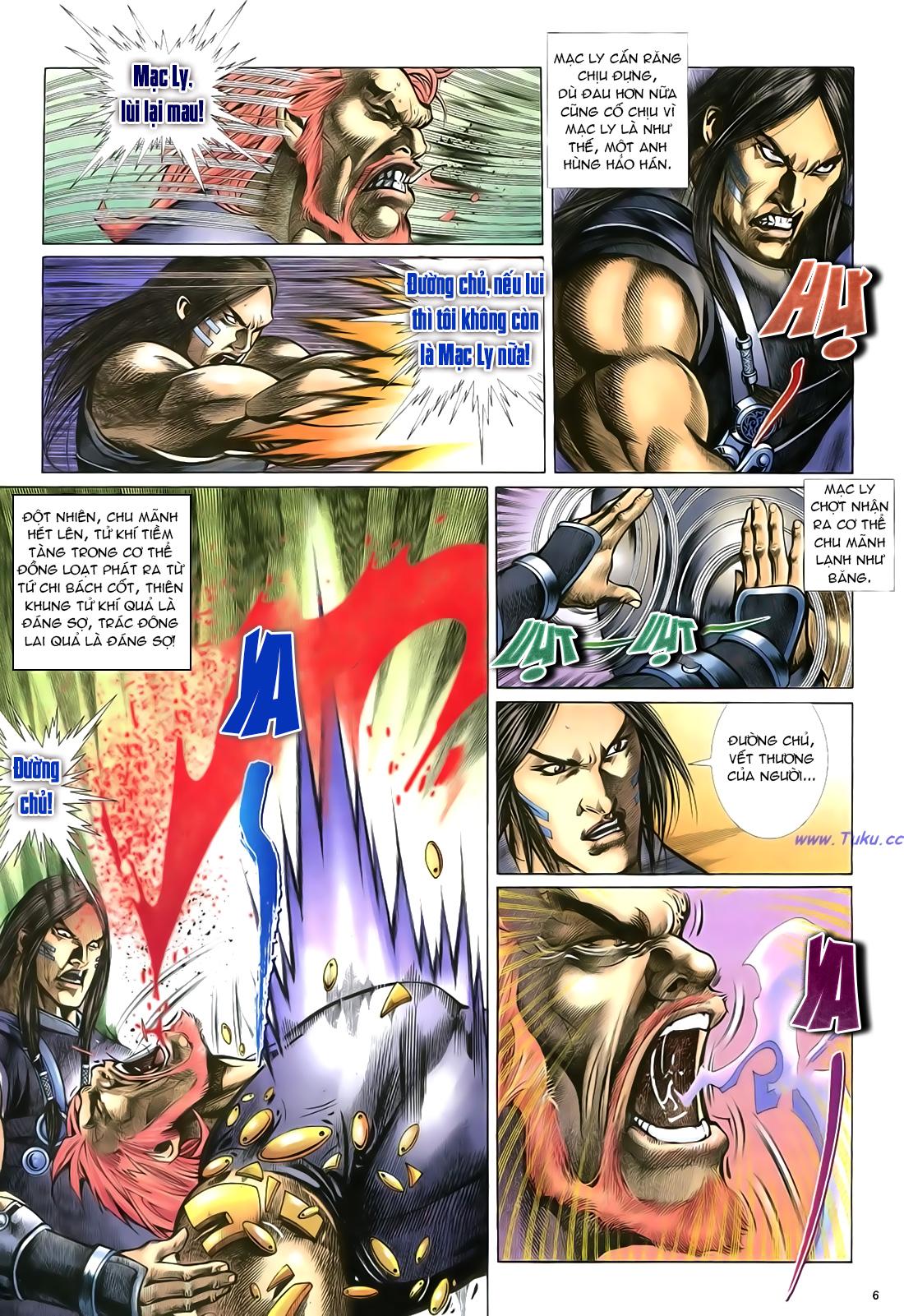 Anh hùng vô lệ Chap 23 trang 7