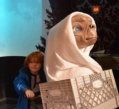 Madame Tussauds London including Star Wars,  A Review  - E.T