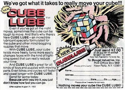 Cube Lube