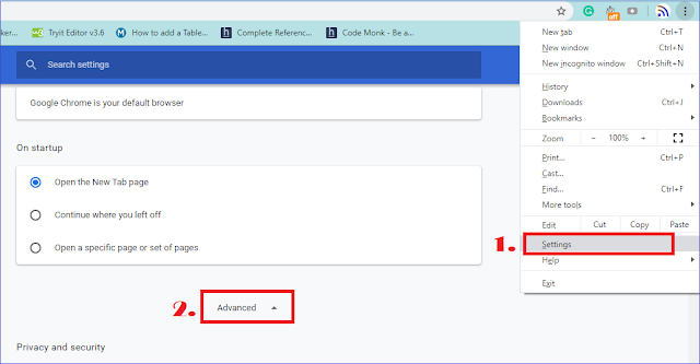 Google Chrome Password Alert