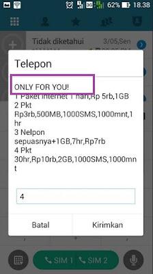 Kode Paket Internet Murah Indosat