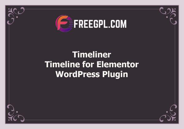 Timeliner – Timeline for Elementor Free Download