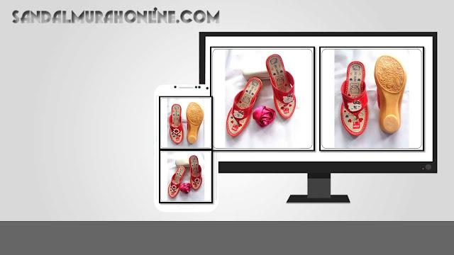 Grosir Sandal Online | Sandal Anak Tanggung | Sandal Hak Sol Karet CPC TG