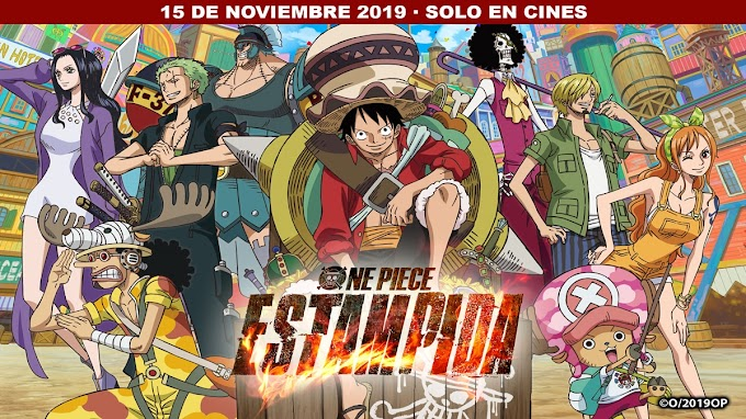 One Piece Estampida se estrena en cines
