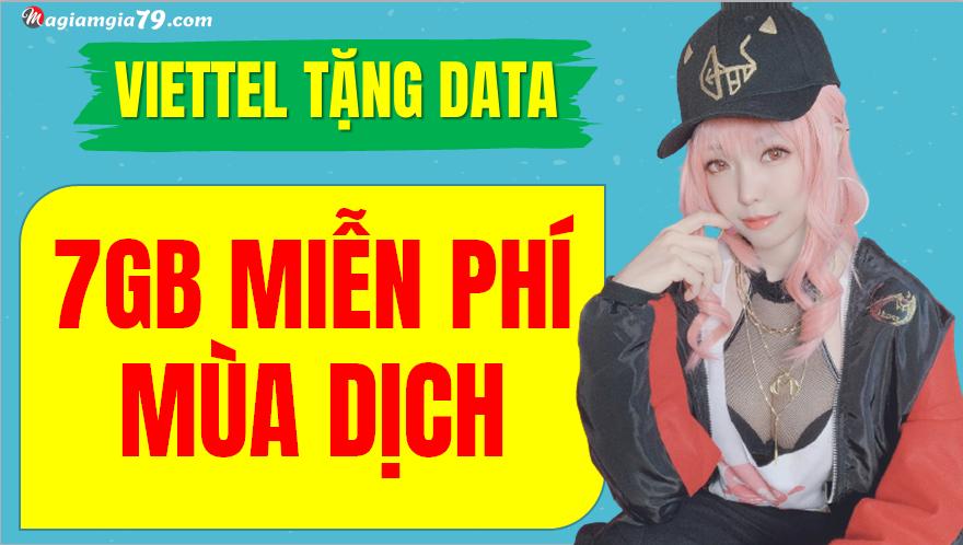 Miễn phí  data Viettel