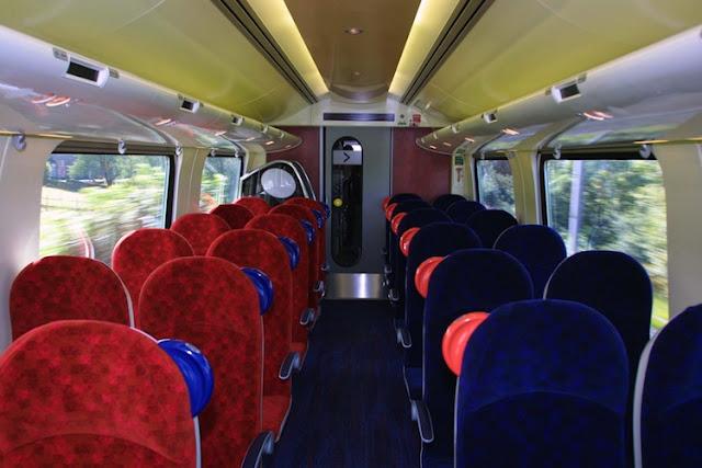 Andar de trem em Londres