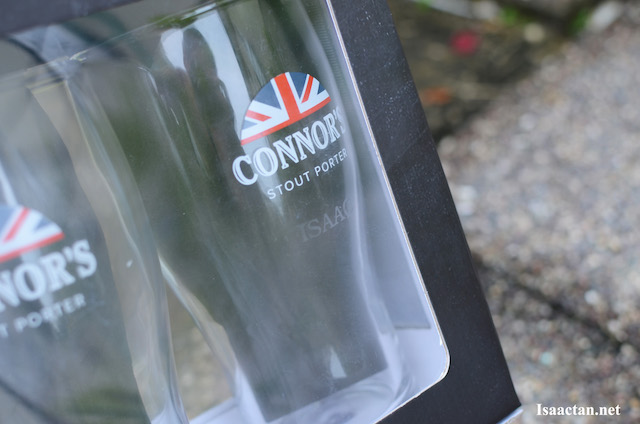 Get your name etched unto the Limited Edition British-inspired Pint Glass today!