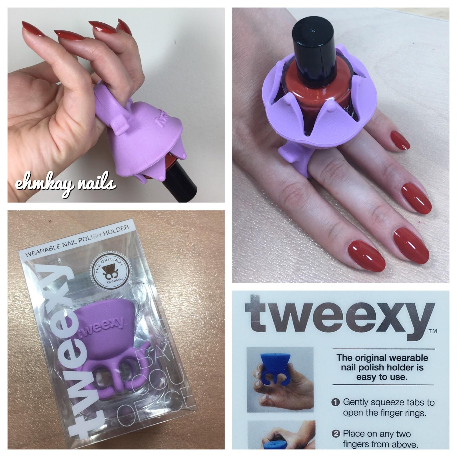 Tweexy Wearable Nail Polish Holder Review