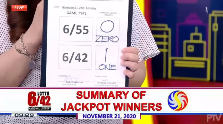 Bettor wins Php 20.4 M PCSO Lotto 6/42 jackpot
