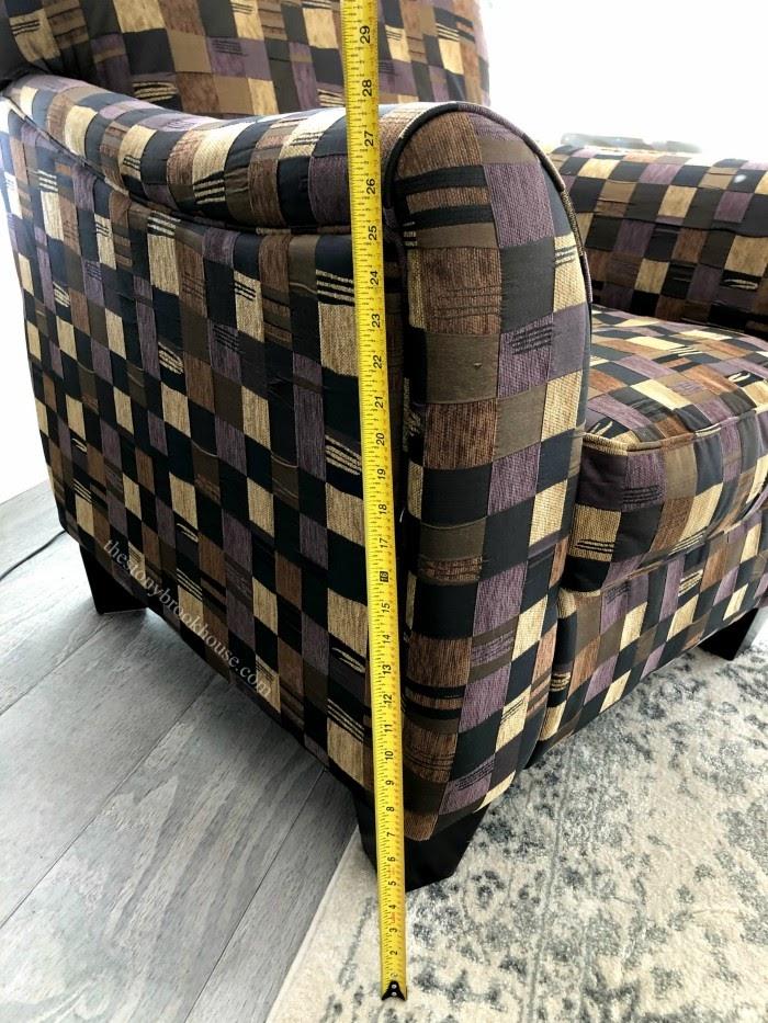 measuring chair