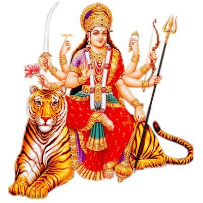 Hindu Goddess durga puja image