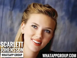 Scarlett Johansson Fans WhatsApp Group Links