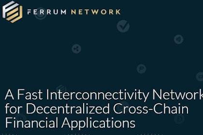 Ferrum Network koneksi cepat yang dirancang khusus untuk aplikasi ekonomi terdesentralisasi.
